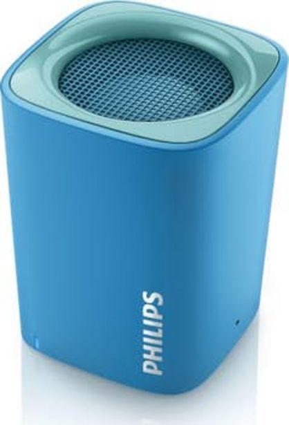Oferta de Philips altavoz portátil inalámbrico BT100A/00 por 68,38€
