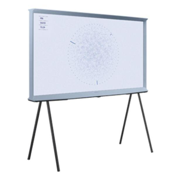 "Oferta de TV LS01T The Serif Azul 125cm 50"" 4K Smart TV (2020) por 979€"