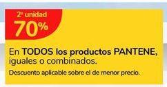 Oferta de En TODOS los productos PANTENE iguales o combinados. por