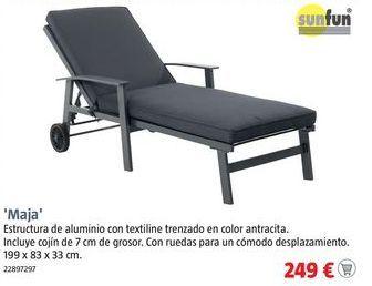 Oferta de Sillas de jardín por 249€
