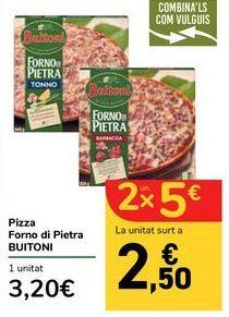 Oferta de Pizza Forno de Pietra BUITONI por 3,2€