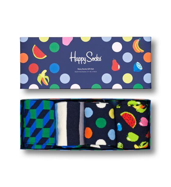 Oferta de Navy Socks Gift Box 4-Pack por 20,97€