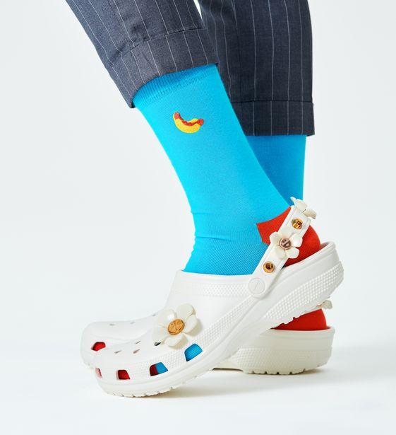 Oferta de Embroidery Hot Dog Sock por 5,97€