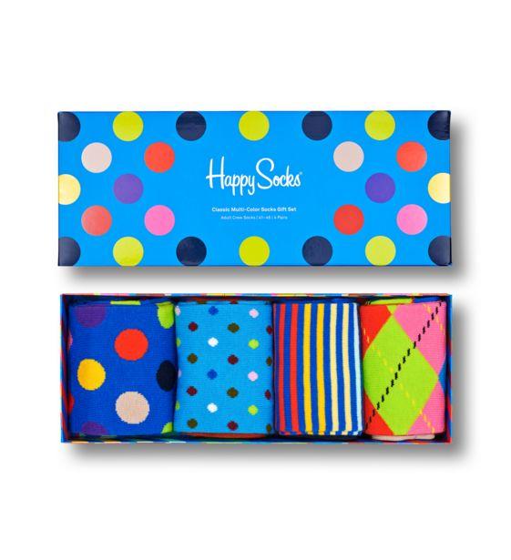 Oferta de Classic Multi-Color Socks Gift Box 4-Pack por 20,97€