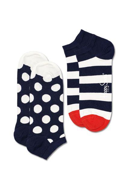 Oferta de 2-Pack Big Dot Stripe Low Sock por 8,37€