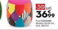 Oferta de Puff COLOURS  por 36,99€