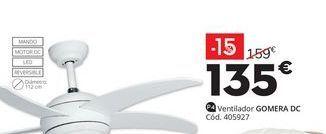 Oferta de Ventiladores GOMERA DC por 135€