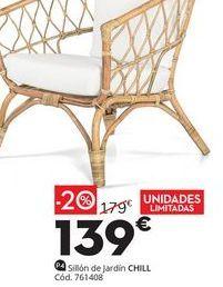 Oferta de Sillón de jardín Chill por 139€