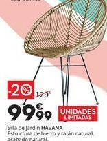 Oferta de Sillas de jardin HAVANA por 99,99€