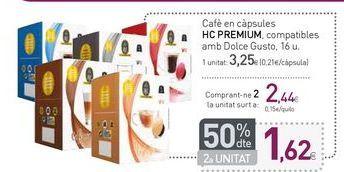 Oferta de Café en cápsules HC PREMIUM  por 3,25€