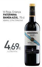Oferta de Vi Rioja, Criança PATERNINA BANDA AZUL por 4,69€