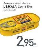 Oferta de Anxoves en oli d'oliva L'ESCALA por 2,95€