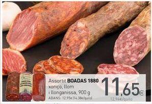 Oferta de Assortit BOADAS 1880 por 11,65€