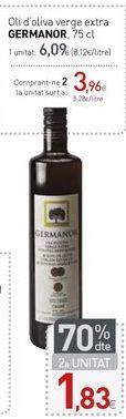Oferta de Oli d'oliva verge extra GERMANOR por 6,09€