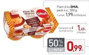 Oferta de Flam d'ou DHUL  por 1,99€