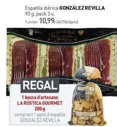 Oferta de Espatlla ibérica GONZÁLEZ REVILLA por 10,99€