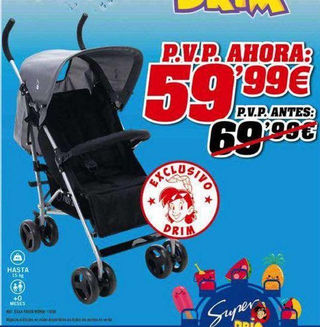 Oferta de Sillas de paseo por 59,9€