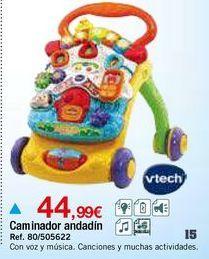 Oferta de Andador musical Vtech por 44,99€