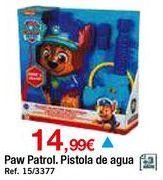 Oferta de Pistola de agua paw patrol por 14,99€
