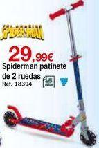 Oferta de Patinete Spiderman por 29,99€