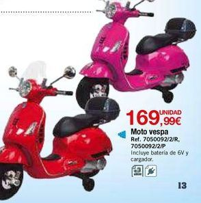 Oferta de Moto de juguete por 169,99€