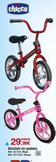 Oferta de Bicicleta infantil Chicco por 29,99€