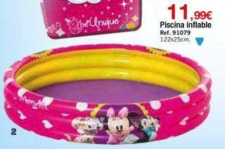 Oferta de Piscina hinchable por 11,99€