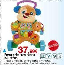 Oferta de Peluches musicales Mattel por 37,99€
