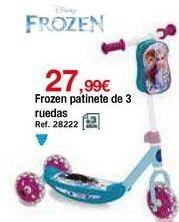 Oferta de Patinete Frozen por 27,99€