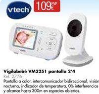 Oferta de Vigilabebés Vtech por 109€