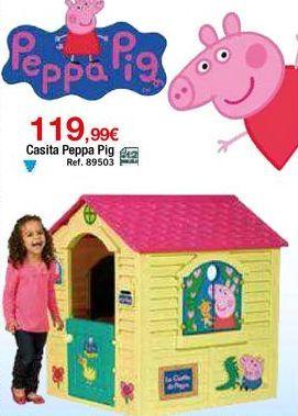 Oferta de Casa de juguete Peppa pig por 119,99€