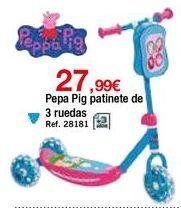 Oferta de Patinete Peppa pig por 27,99€