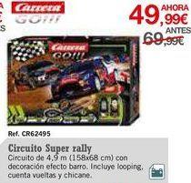 Oferta de Pistas de coches Carrera por 49,99€