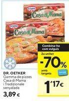 Oferta de Pizza Dr Oetker por 3,89€