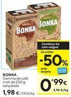 Oferta de Café Bonka por 1,98€