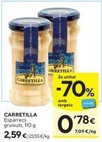 Oferta de Espárragos Carretilla por 2,59€