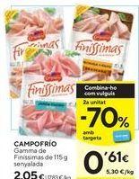 Oferta de Loncheados Campofrío por 2,05€