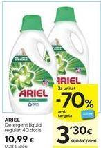Oferta de Detergente líquido Ariel por 10,99€