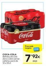 Oferta de Coca-Cola por 7,92€