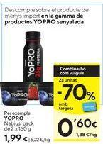 Oferta de Postres YoPRO por 1,99€