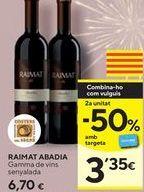 Oferta de Vino tinto Raimat por 6,7€