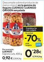 Oferta de Legumbres Luengo por 0,92€
