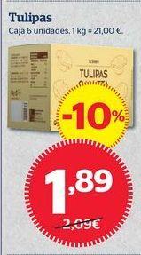 Oferta de Tulipas artesanas por 1,89€