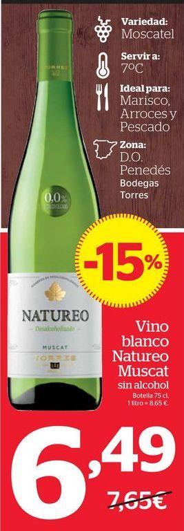 Oferta de Vino blanco por 6,49€