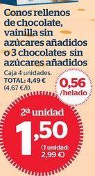 Oferta de Helados por 1,6€