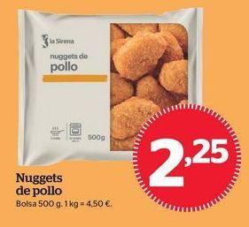 Oferta de Nuggets por 2,25€