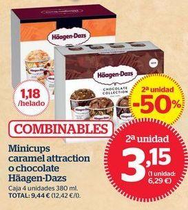 Oferta de Helados Häagen-Dazs por 3,15€
