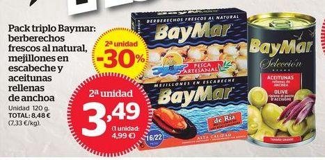 Oferta de Conservas BayMar por 3,49€