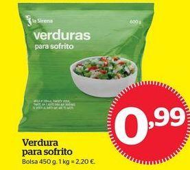 Oferta de Verduras congeladas por 0,99€