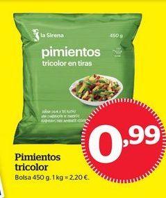 Oferta de Pimientos por 0,99€